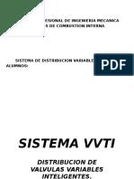 Sistema de Distribucion Variable Vvti y Vtec