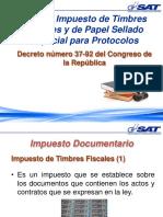 Ley de Timbres Fiscales Guatemala
