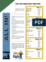 Prayer Guide 2016 PDF