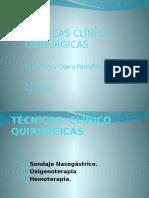 10 - Tecnica Clinico-Quirurgicas