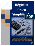 Regimen Unico Simplificado