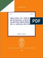 Organiza El Servicio de Bsqueda y Rescate Martimo Dependiente de La Armada de Chile