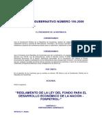 Acuerdo Gubernativo 195-2009