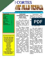 MELJUN CORTES HCCB School Publication (2009-2010)
