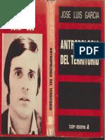 Antropología Del Territorio - José Luis García