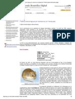 Fiebres hemorrágicas por arenavirus en Venezuela++VITAE Academia Biómedica Digital