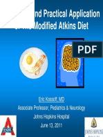 The Modified Atkins Diet