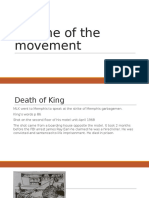 decline of the movement