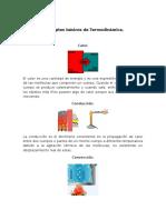 Conceptos básicos de termodinámica.