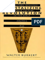 (Revealing Antiquity 5) Walter Burkert-The Orientalizing Revolution_ Near Eastern Influence on Greek Culture in the Early Archaic Age (Revealing Antiquity)-Harvard University Press (1998)