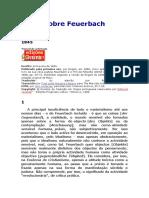 Teses Sobre Feuerbach - Karl Marx