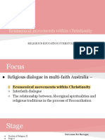 ecumenical movements within christianity