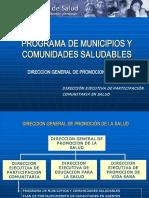 municipios Municipalidades Saludables