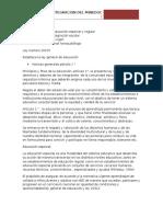 15 Decretos de Integracion Del Mineduc