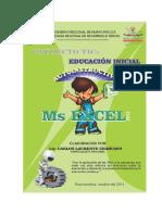 Módulo Excel 2013 - Autoinstructivo - Para docentes