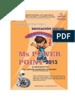 Módulo PowerPoint 2013
