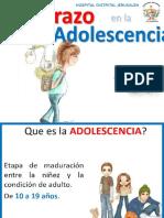 Embarazo en Adolescente