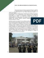 Conflictos Sociales y Sus Implicaciones en La Función Policial