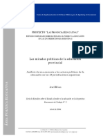 Informe Encuesta Actores Politicos