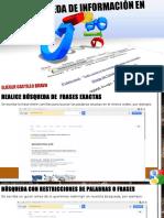Búsqueda de Información en Google