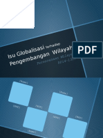Isu Globalisasi Terhadap Pengembangan Wilayah