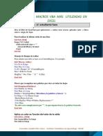 Ejemplos de Macros Vba Excel Aplicadas