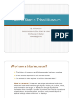 How to Start a Tribal Museum