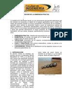 Informe 1 Dimension Fractal