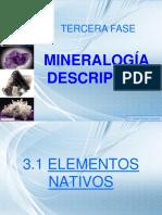 CAPITULO 3 Mineralogia Descriptiva