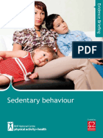 BHF Sedentary Evidence Briefing