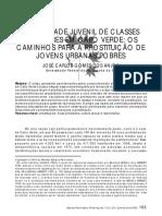 Sexualidade Juvenil de Classes Populares Em Cabo Verde - Os Caminhos p