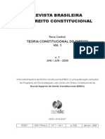 Revista Brasileira de direito Constitucional - n°07-vol1 - jan-jun-2006