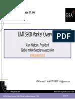 1 - GSA UMTS900 Market Update Dubai UMTS900 Workshop 171208