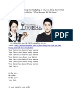 Tiếng Hàn Qua Bài Hát Spica - Your Dance