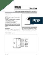 TDA2004-datsheet
