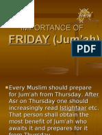 Friday in Islam
