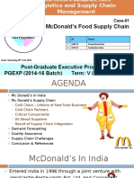 McDonalds Food Supply Chain