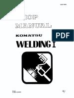 MANUAL TALLER SOLDADURA KOMATSU Welding 4001.pdf