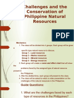 challenges and the conservation of philippine resources