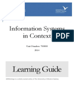 Information Systems in Context Learning Guide 20141(1)(1)