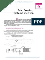 9 Micrometro Sistema Metrico