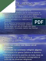 Libertad de Religiòn