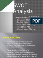 Swot Analysis-group 2