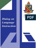 Dialog on Language Instruction Vol 26 No. 1 (2016)