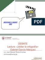 Jubilar la ortografía USMP