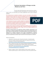INTRODUCCION de Prevalencia y Factores Asociados Al Riesgo Suicida en Internos de Medicina (1)