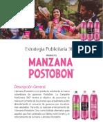 Estrategia Publicitaria Manzana Postobon