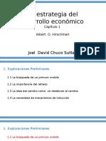 La Estrategia Del Desarrollo Económico
