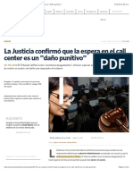 "La Justicia confirmó que la espera en el call center es un ""daño punitivo"""