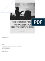 Eric Kim - 100 Lessons From the Masters of Street Photography